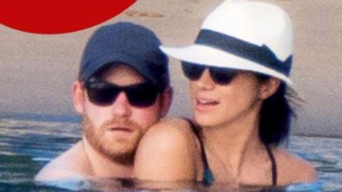 Меган Маркл и принц Гарри отдыхают на Ямайке