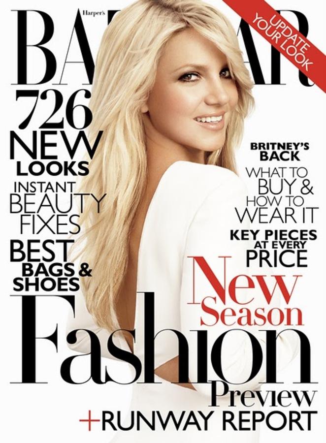 Бритни Спирс в журнале Harper's Bazaar. США. Июль 2011