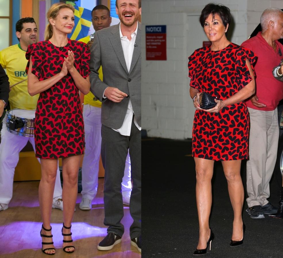 Fashion battle: Камерон Диаз и Крис Дженнер