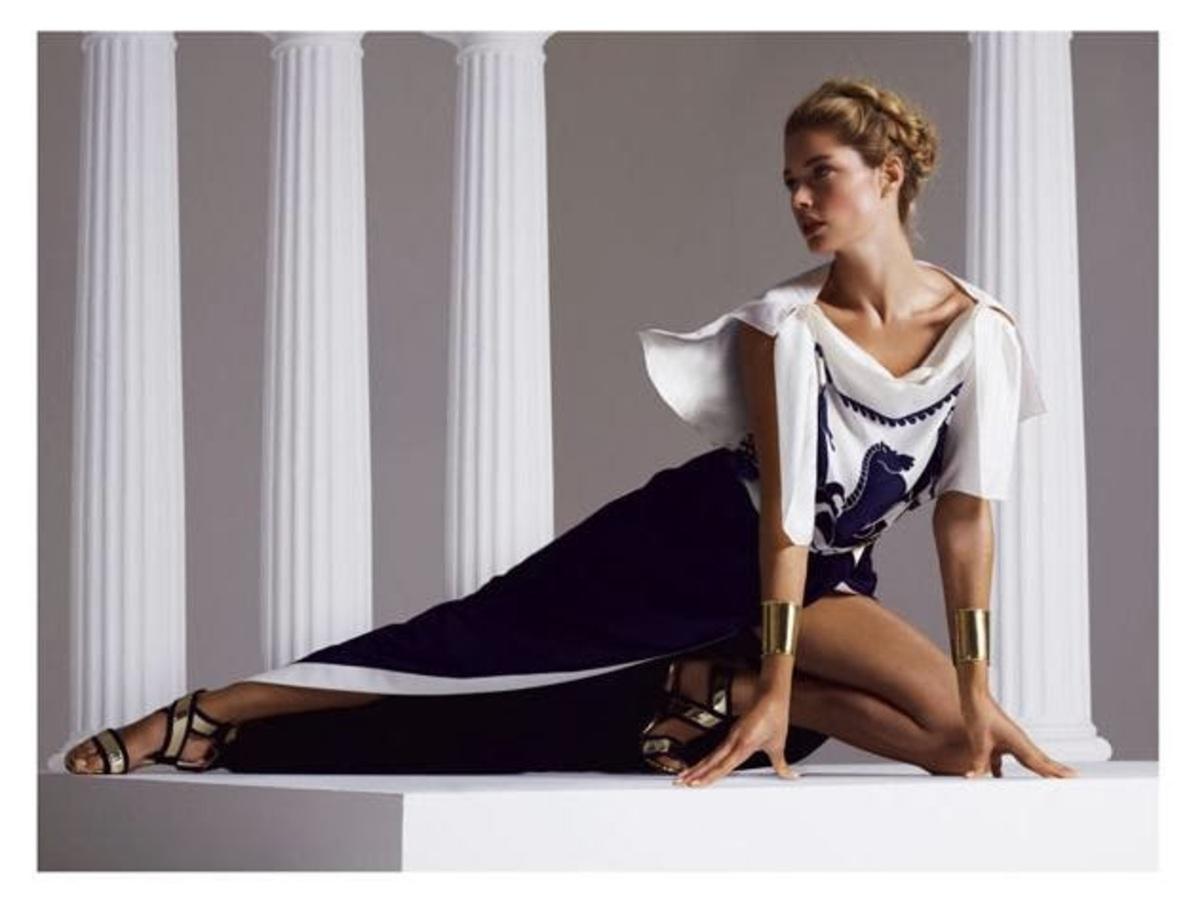 Даутцен Крез в журнале Vogue Турция. Март 2014