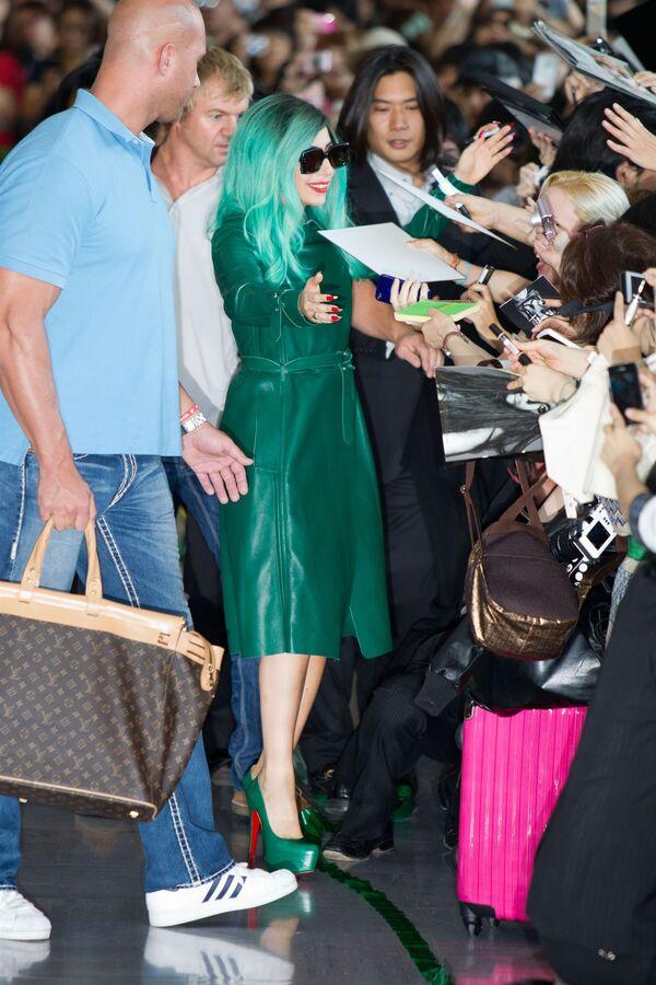 Lady Gaga в Японии