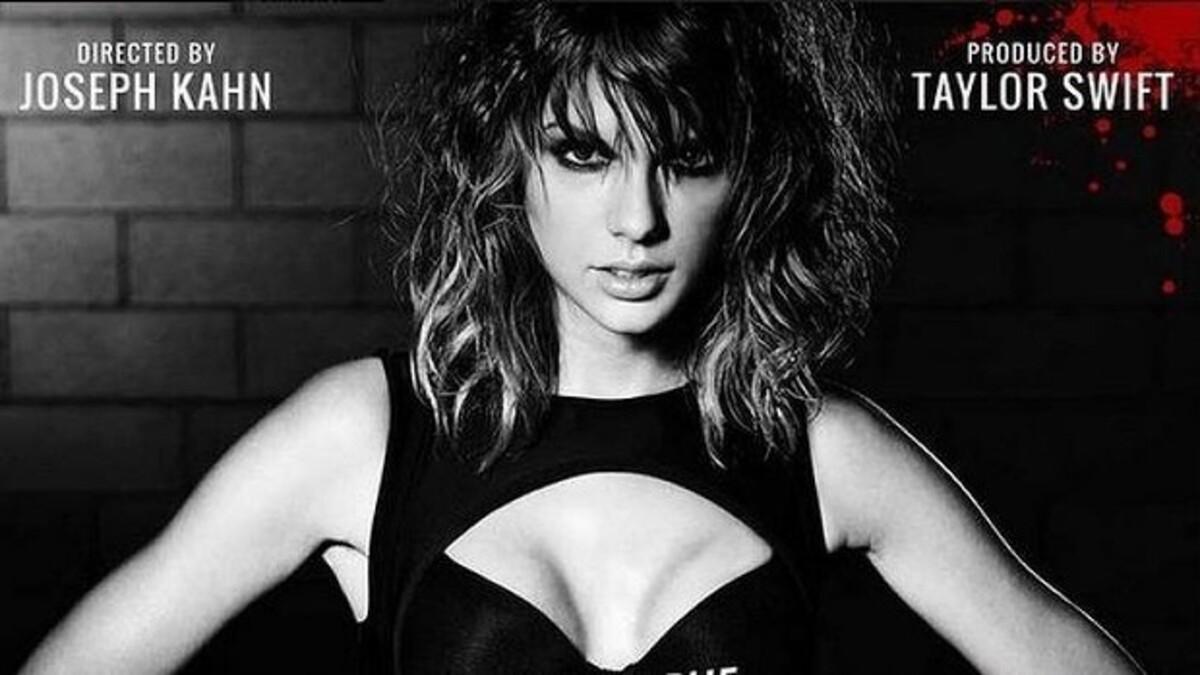 Тейлор Свифт показала видео со съемок Bad Blood