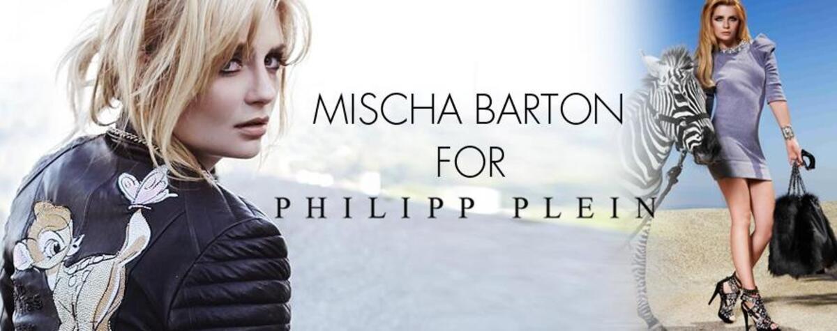 Миша Бартон для Philipp Plein. Осень/Зима 2010-2011