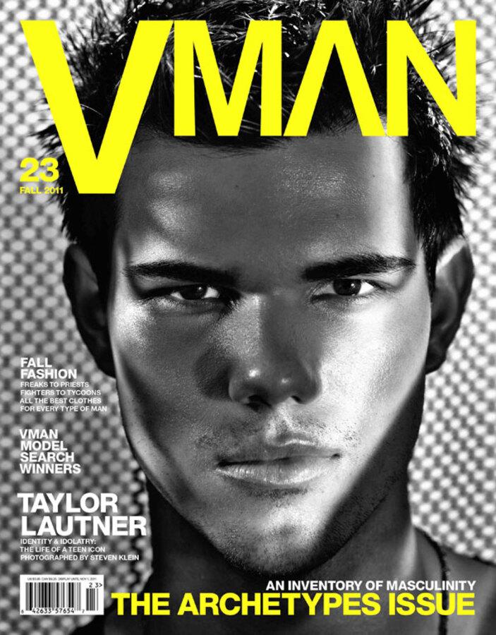 Тэйлор Лотнер в журнале V Man. Осень 2011