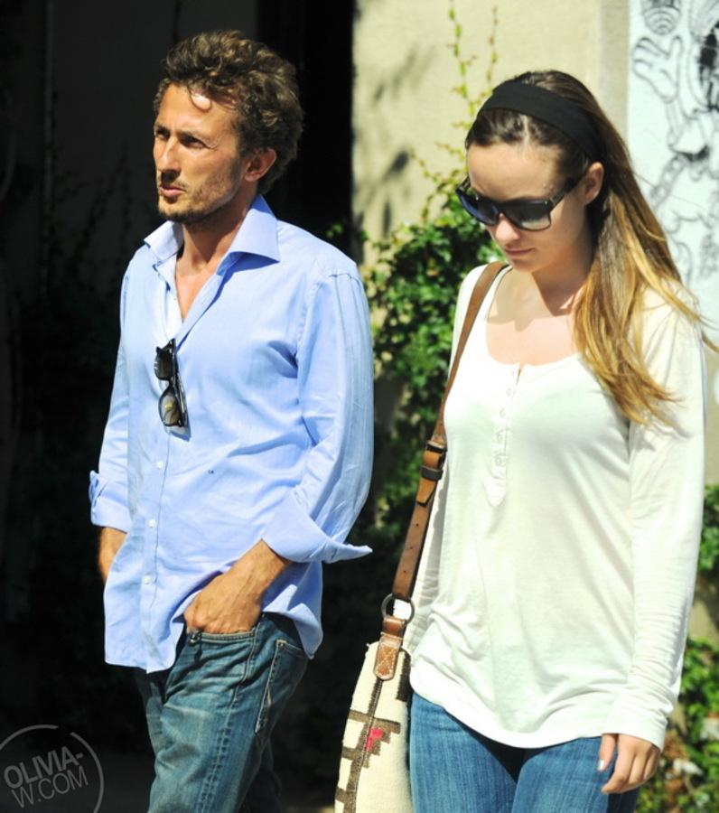 Оливия Уайлд с бывшим мужем в Венисе