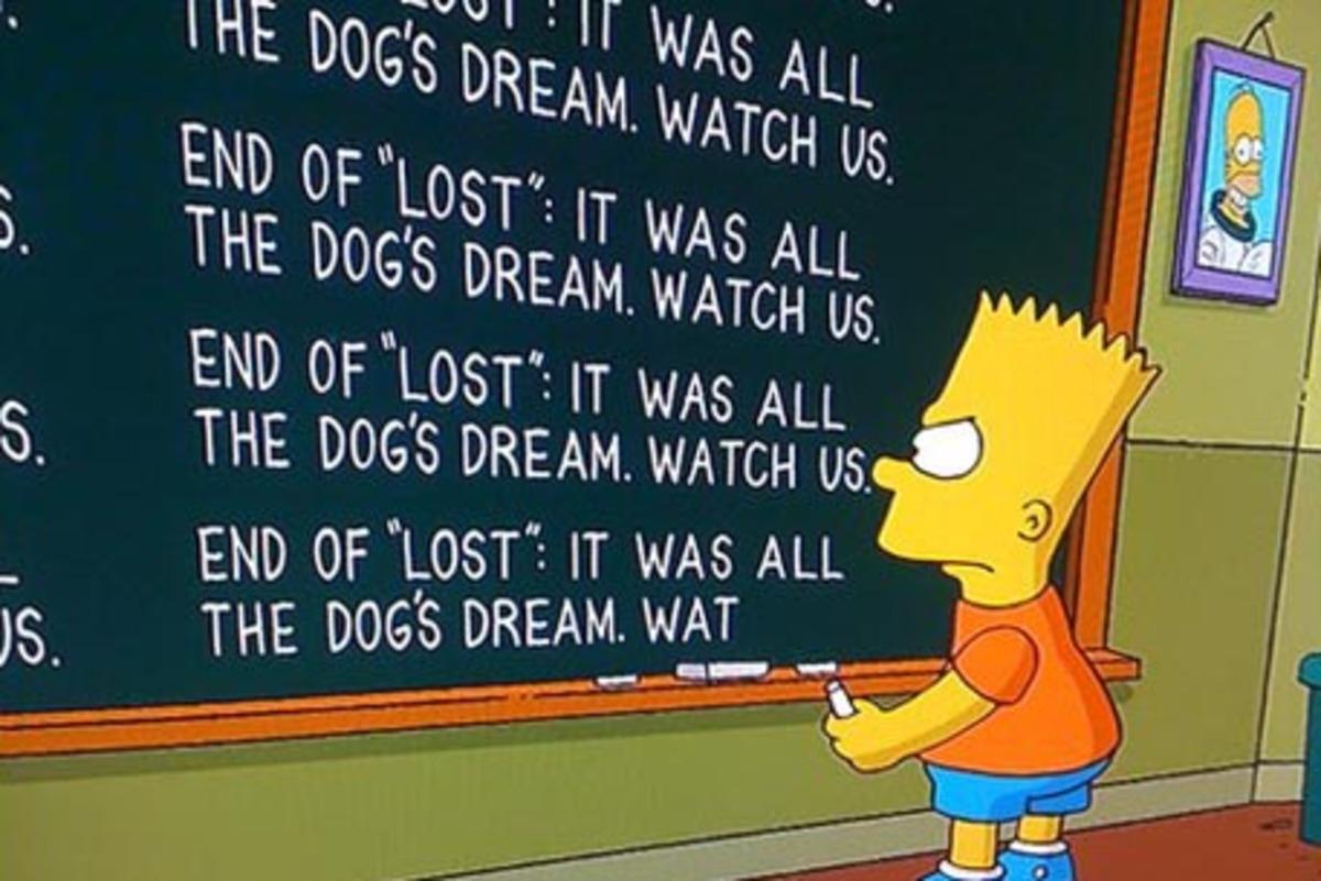 """""""Симпсоны"""" поделились тайной сериала """"Остаться в живых"""""""