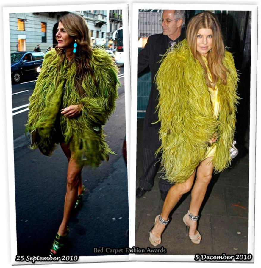 Fashion Battle: Анна Делло Руссо и Ферги