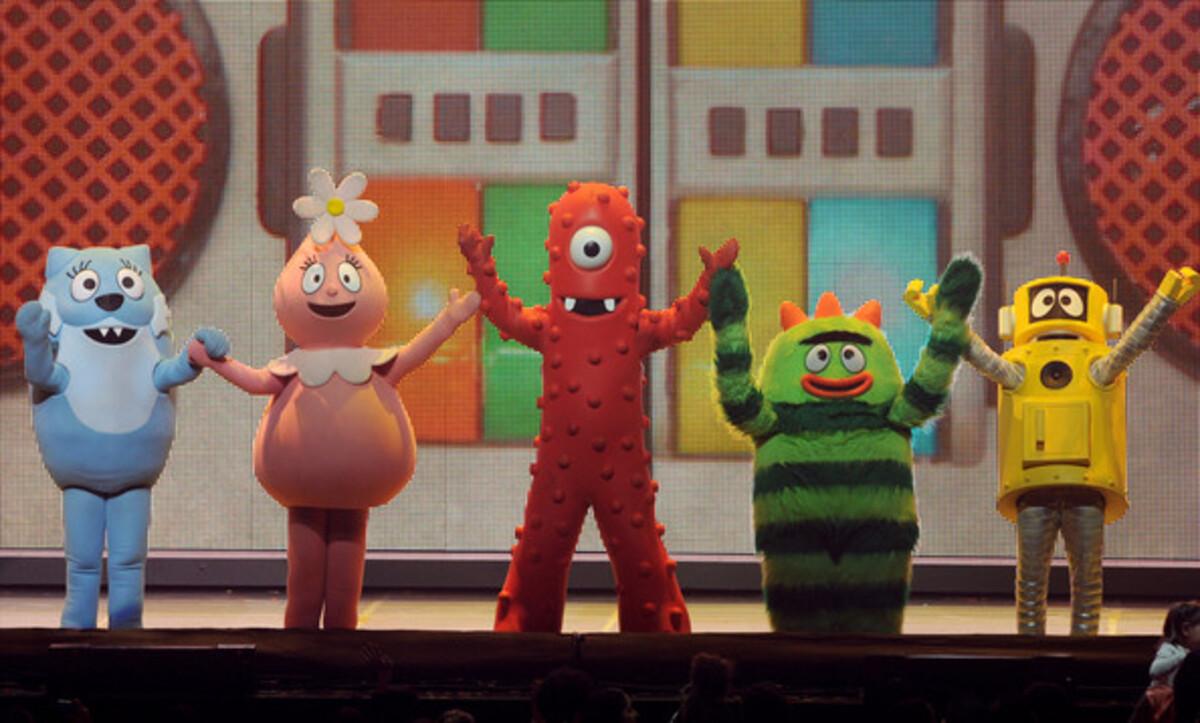 Звездные семьи на шоу Yo Gabba Gabba!