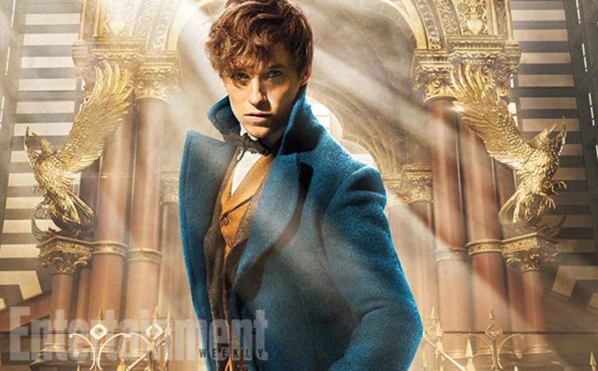 Первое фото: Эдди Редмэйн в спин-оффе «Гарри Поттера»
