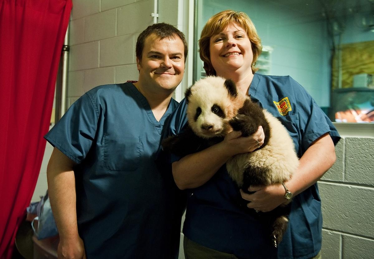 Джек Блэк помогает спасти гигантских панд