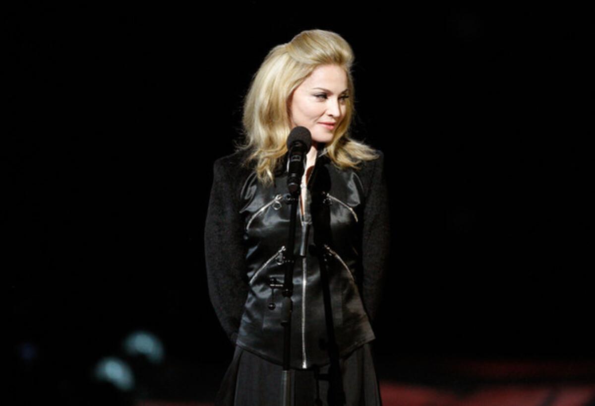На Мадонну подали в суд из-за ее марки одежды