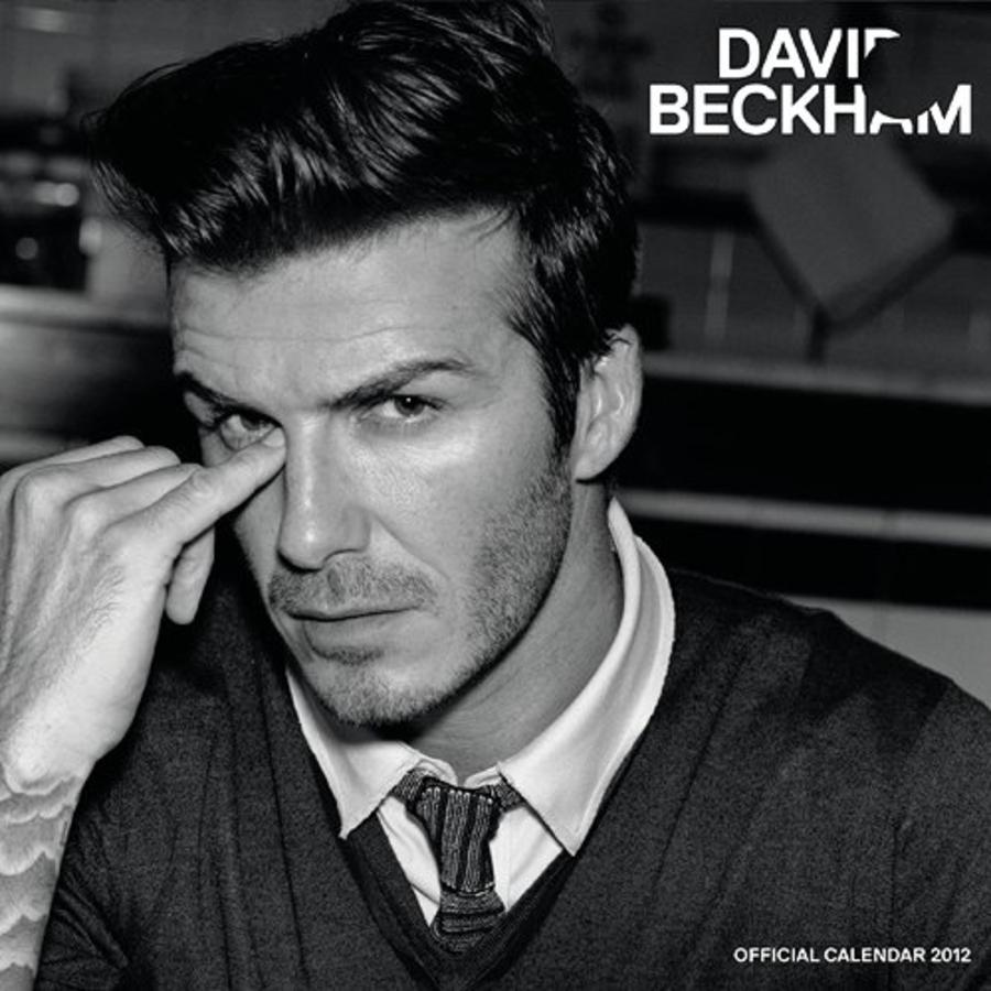 Дэвид Бэкхем выпустил свой календарь на 2012 год