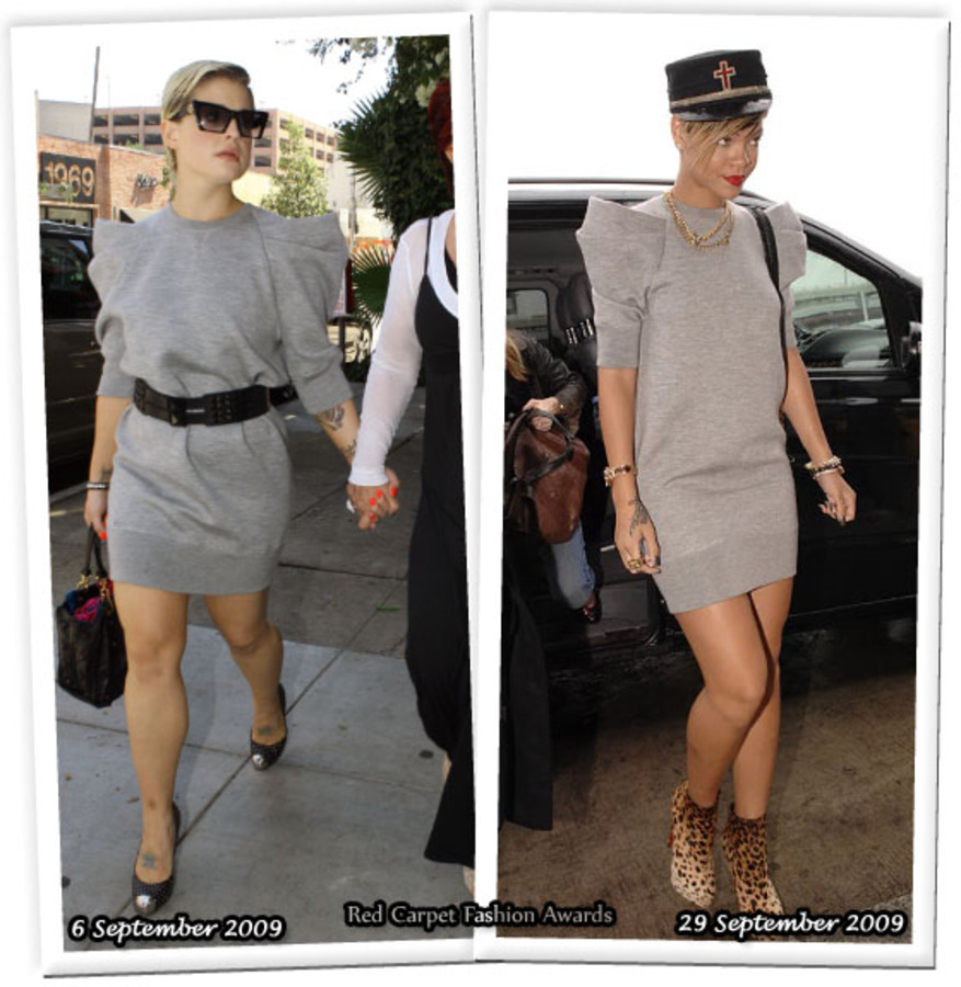 Fashion battle: Келли Осборн и Рианна