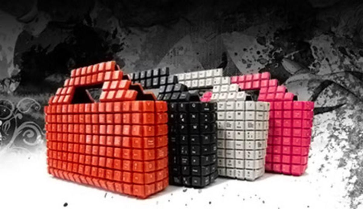 Интересные штучки: сумка-клавиатура
