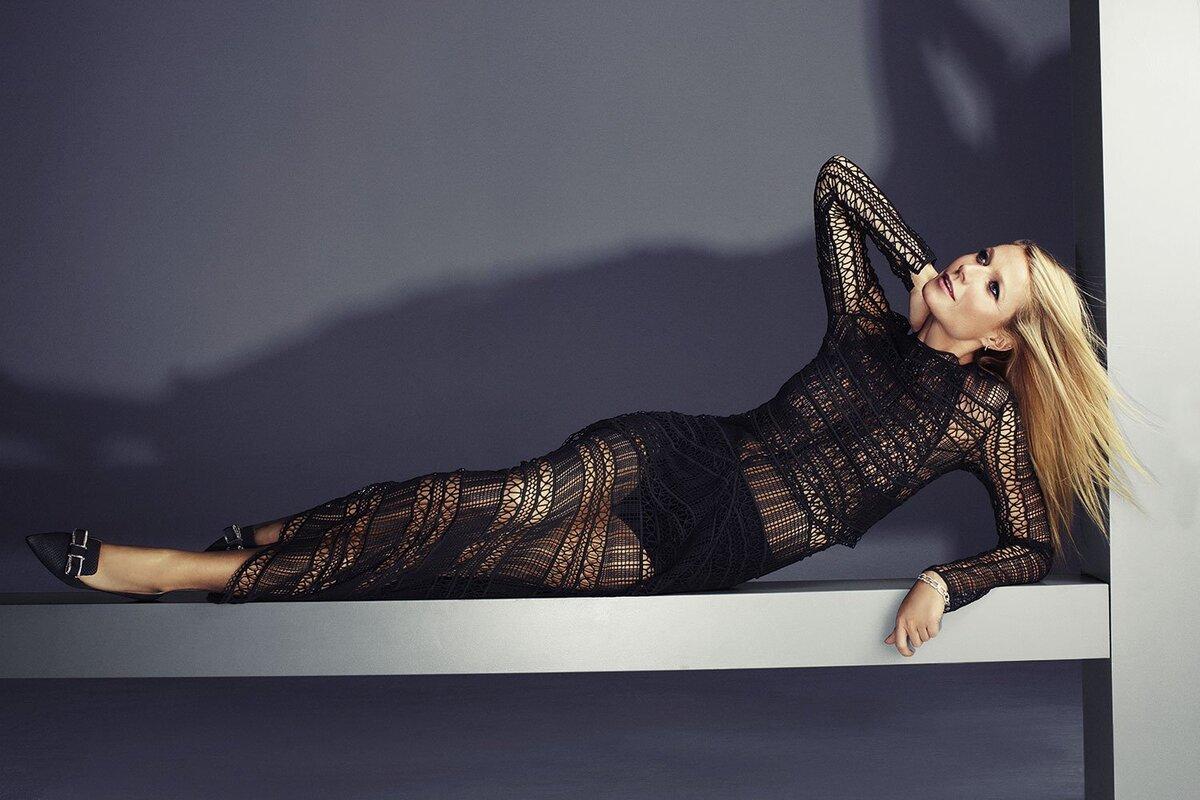 Гвинет Пэлтроу в журнале Harper's Bazaar Великобритания. Февраль 2015