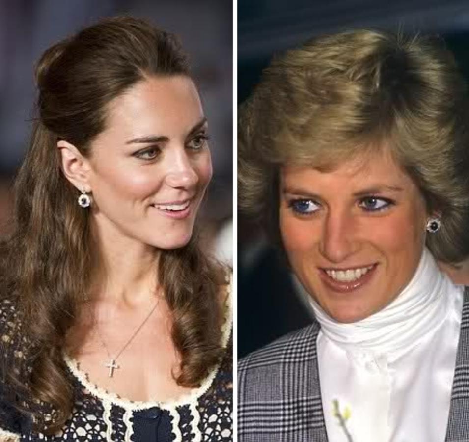 Принц Уильям отдал Кейт любимые серьги своей матери