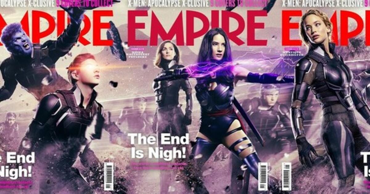 Герои фильма «Люди Икс: Апокалипсис» появились на обложках Empire