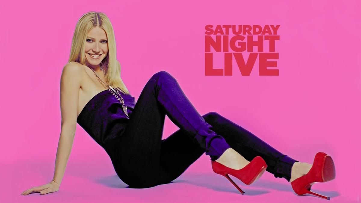 Гвинет Пэлтроу на шоу Saturday Night Live