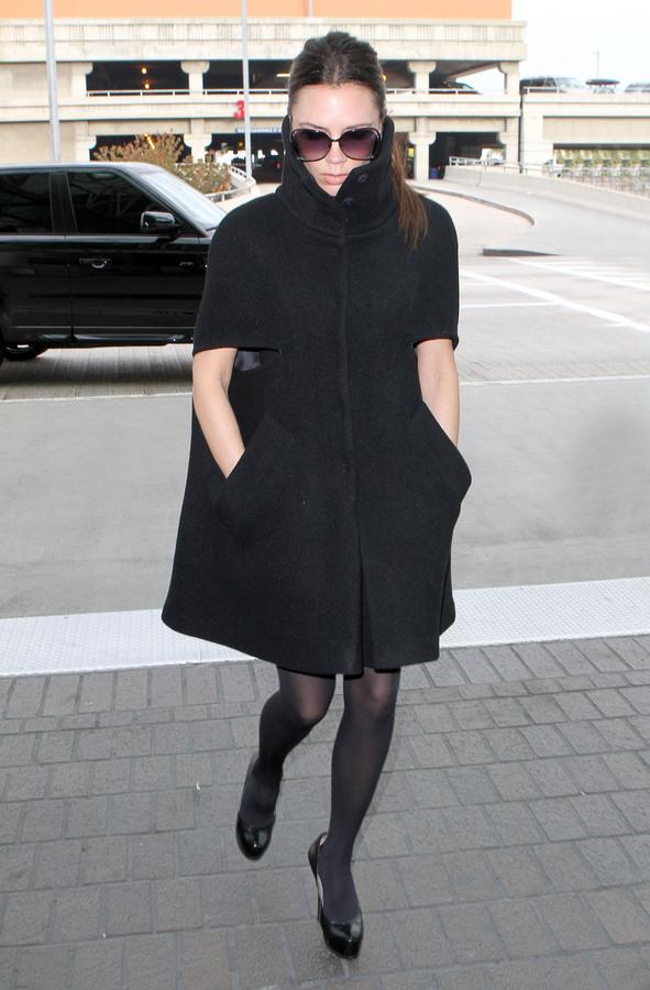 Любимое пальто Виктории Бэкхем