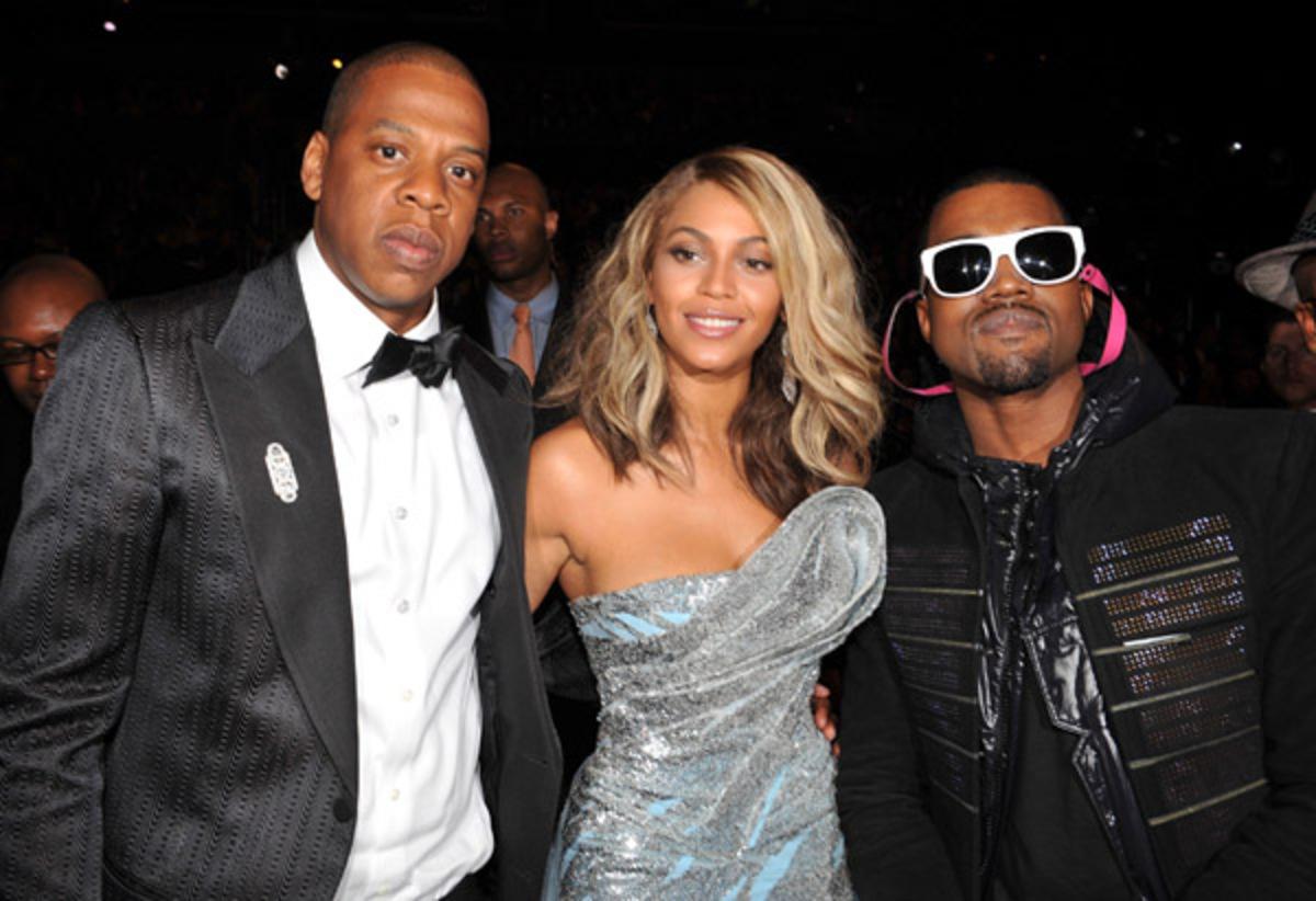 Кани Вест собирается стать крестным отцом для ребенка Бейонсе и Jay-Z