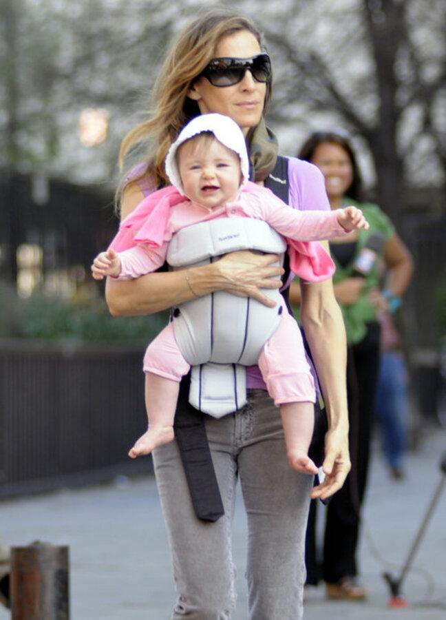 Сара Джессика Паркер с детьми в большом городе