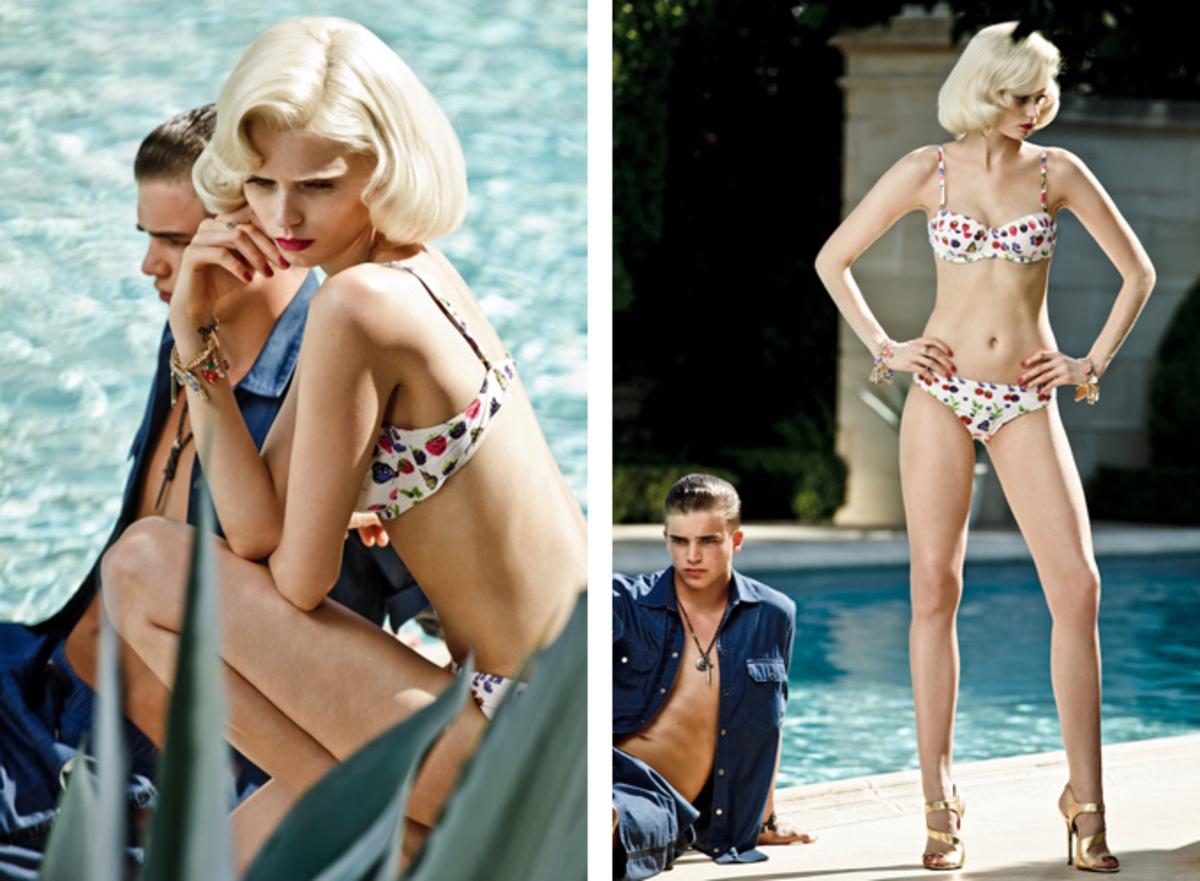 Lookbook коллекции Versace for H&M Cruise