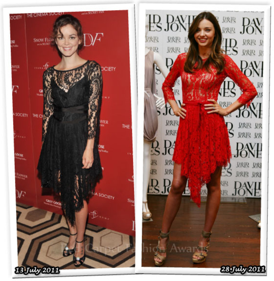 Fashion Battle: Нора Зеетнер и Миранда Керр