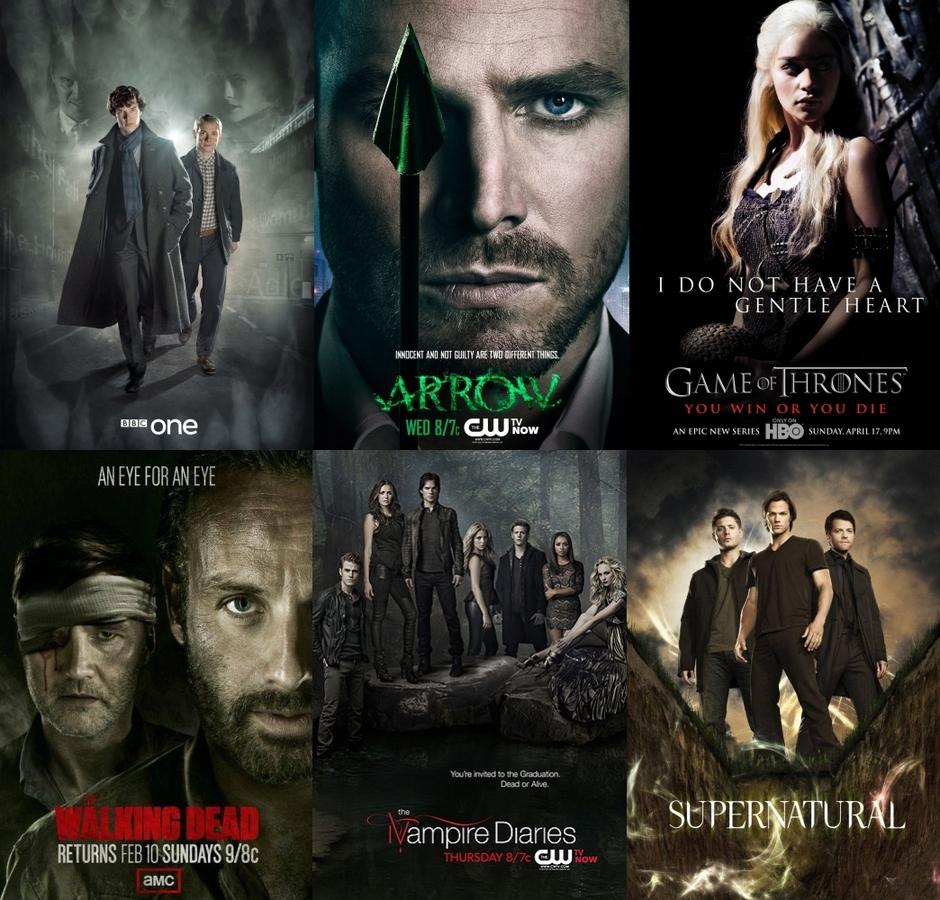 Опрос: какие сериалы вы хотите видеть на ПОПКОРНNews?