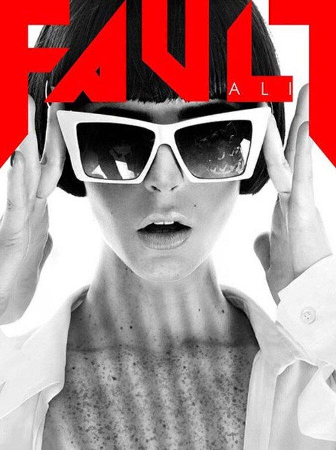 Эли Лохан в журнале Fault. Ноябрь 2011