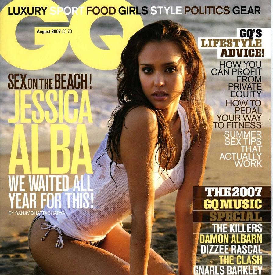 Джессика Альба в августовском GQ