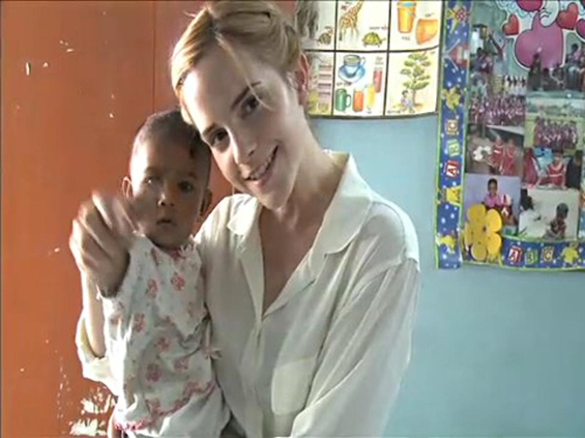 Видео: Эмма Уотсон и People Tree в Бангладеше