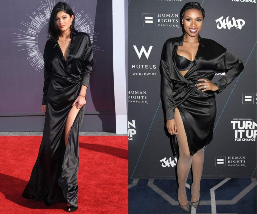 Fashion battle: Кайли Дженнер и Дженнифер Хадсон