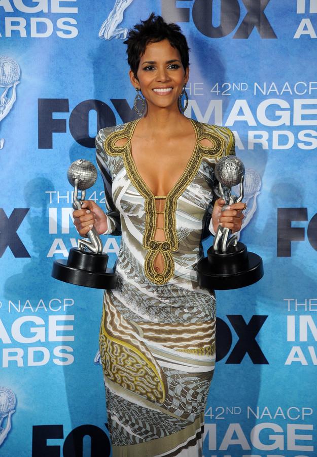 Звезды на церемонии NAACP Image