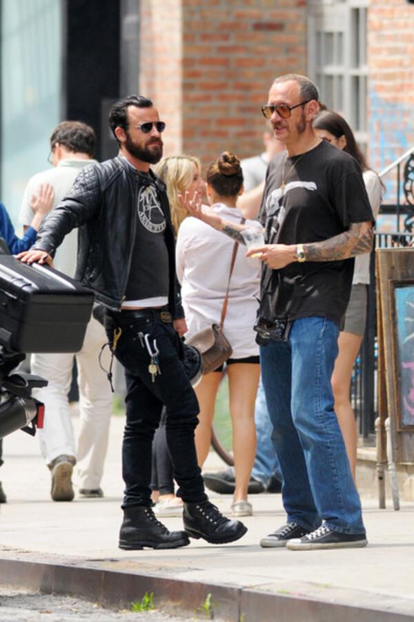 Джастин Теру с Терри Ричардсоном в Нью-Йорке