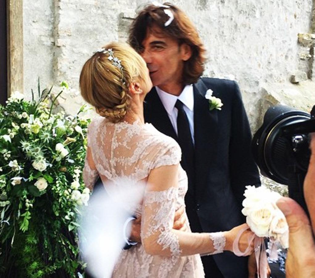Бывший дизайнер Gucci вышла замуж в свадебном платье Valentino