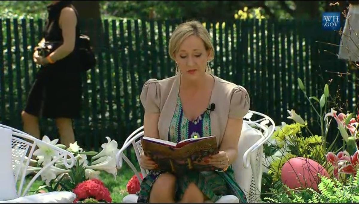 Джоан Роулинг может написать еще одну книгу о Гарри Поттере
