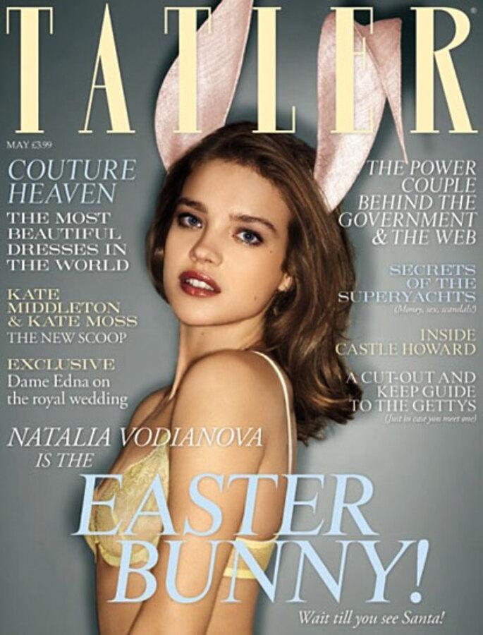 Наталья Водянова в журнале TATLER. Май 2011