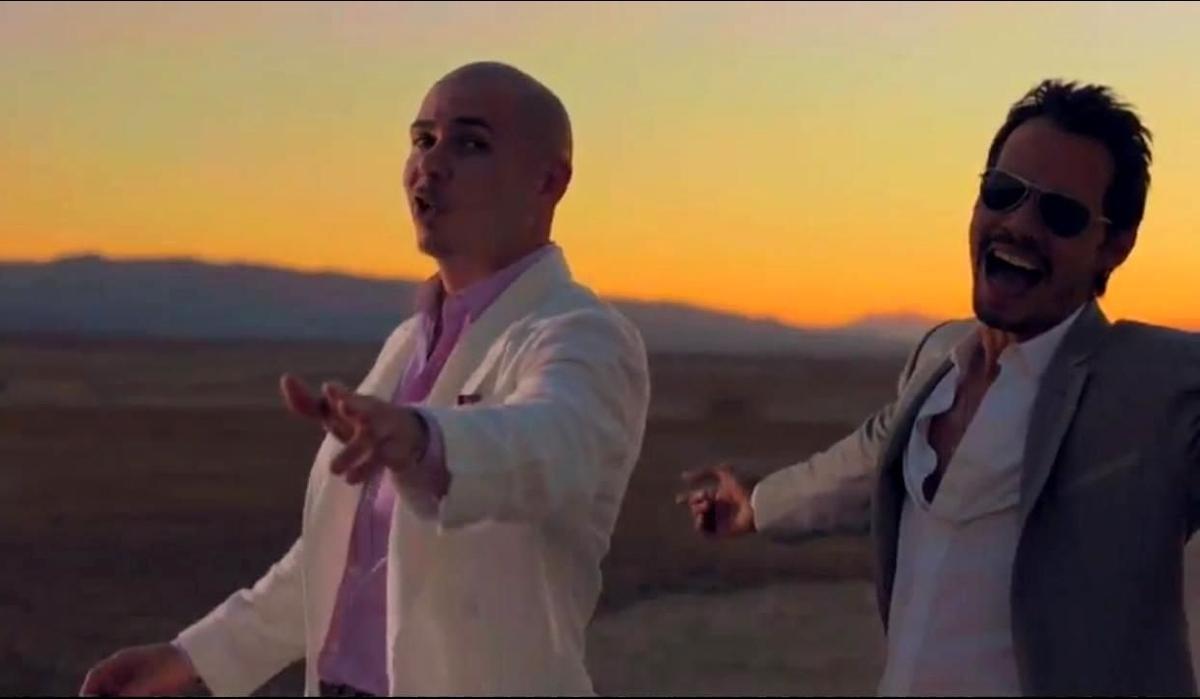 Новый клип Питбуля - Rain Over Me feat. Марк Энтони