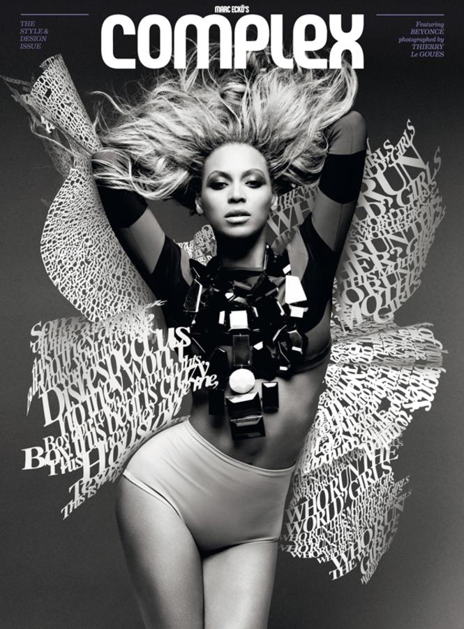 Бейонсе в журнале Complex. Август-сентябрь 2011
