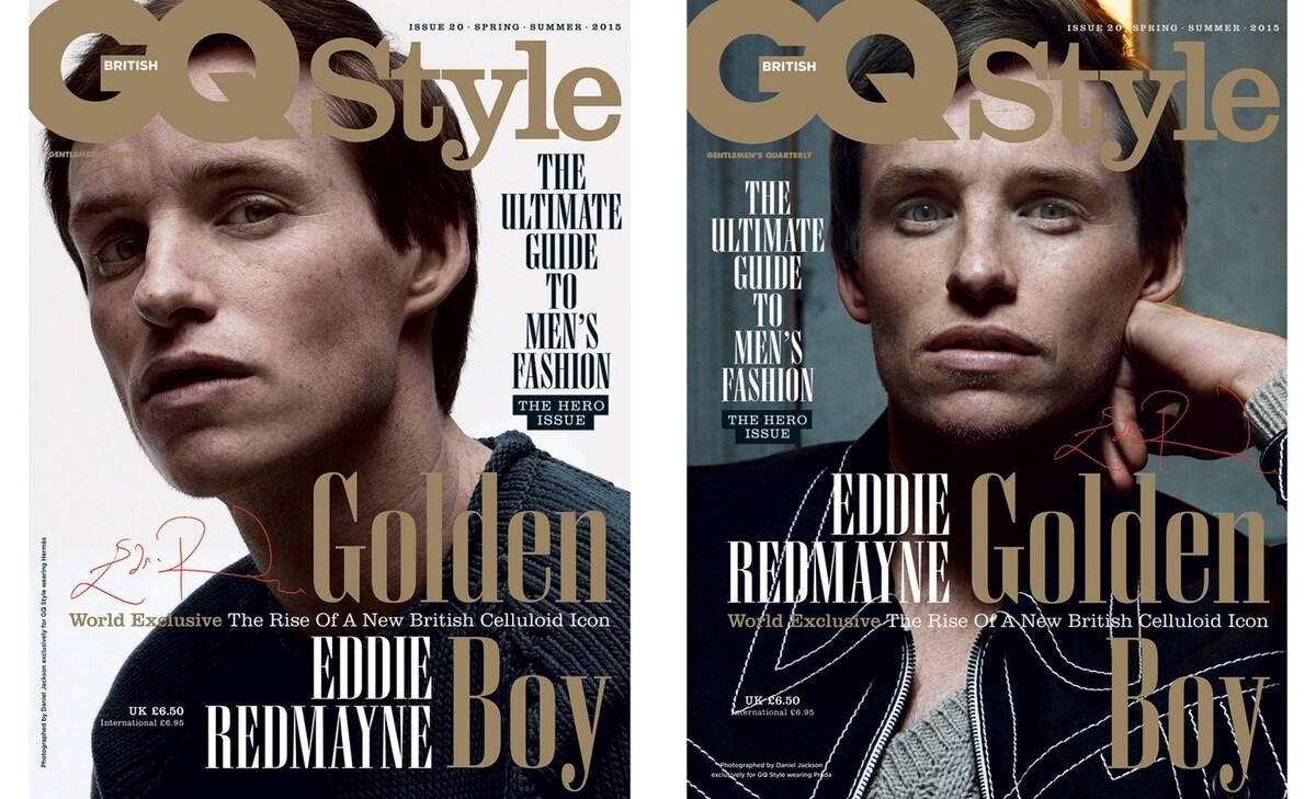 Эдди Редмэйн в журнале GQ Style Великобритания. Весна / лето 2015