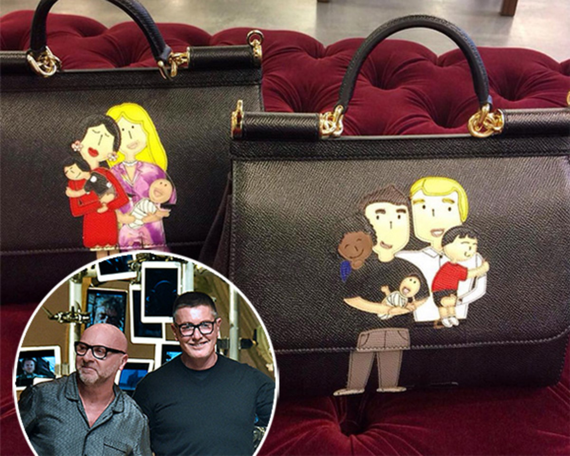 Dolce & Gabbana выпустили капсульную коллекцию для однополых пар