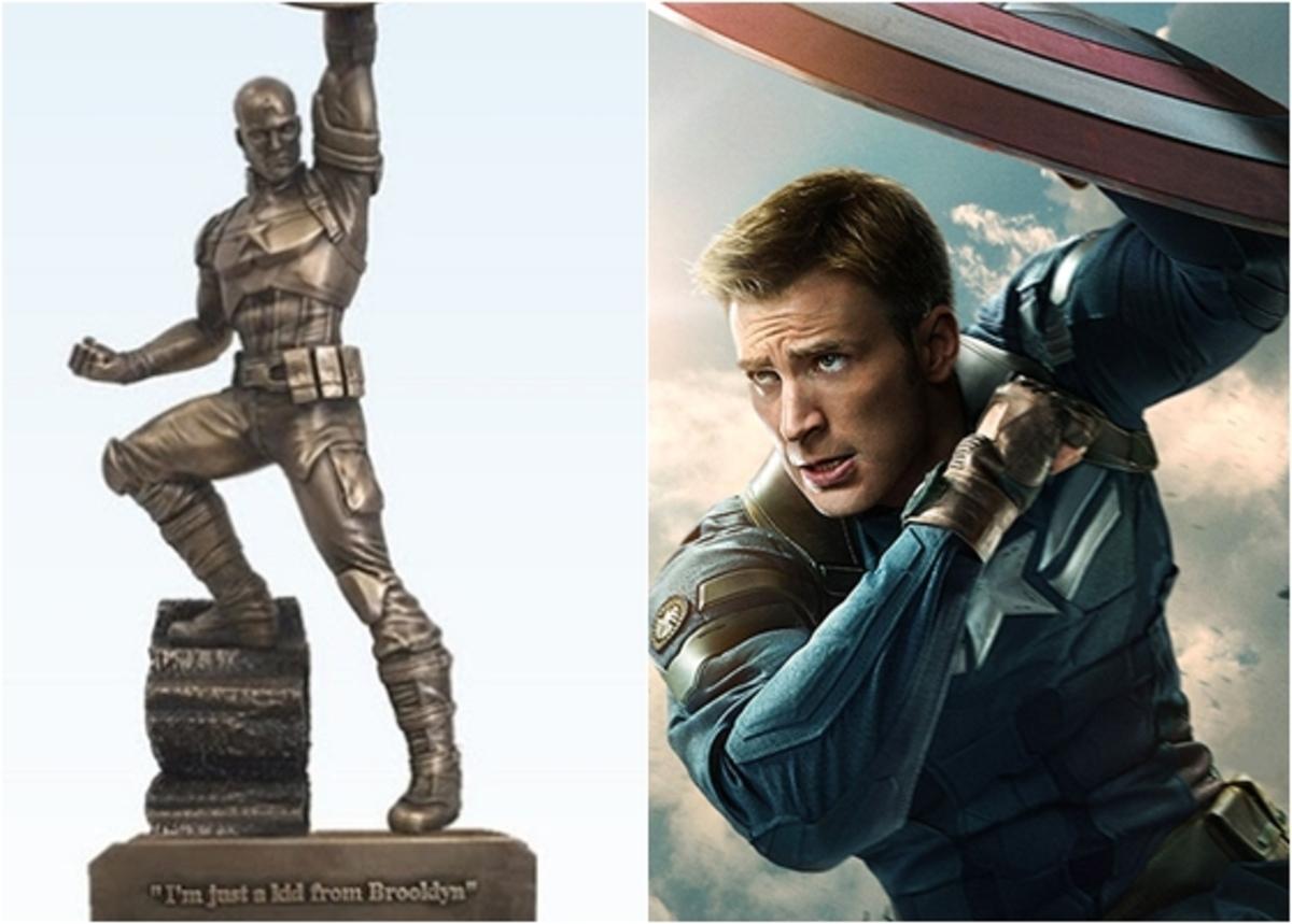 Первые фото: статуя Капитана Америки в Нью-Йорке