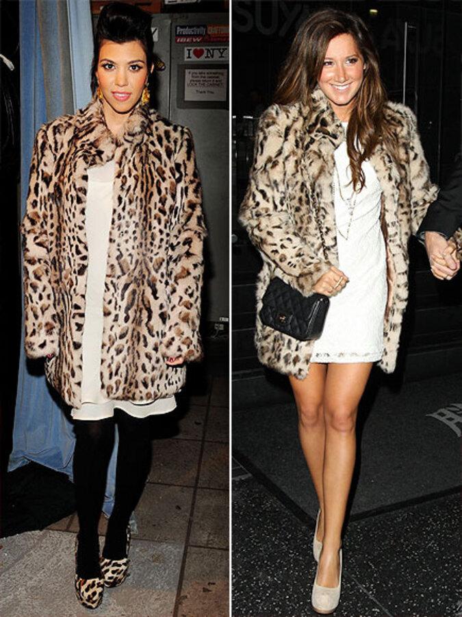 Fashion Battle: Кортни Кардашиан и Эшли Тисдейл