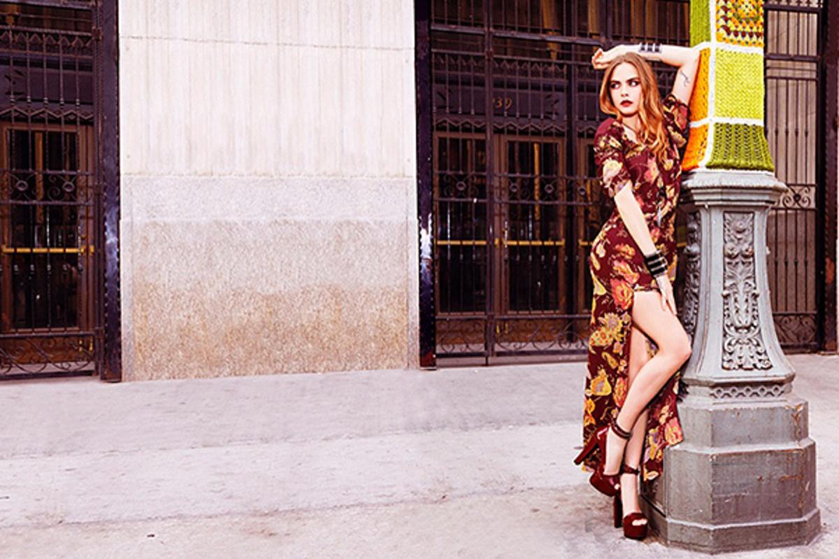 Кара Делевинь снялась в новой рекламной кампании BO.BO