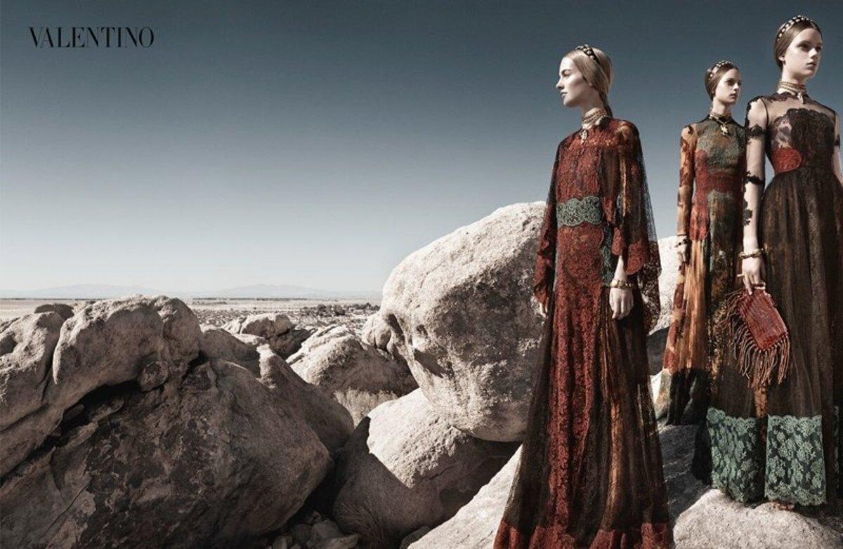 Рекламная кампания Valentino весна-лето 2014