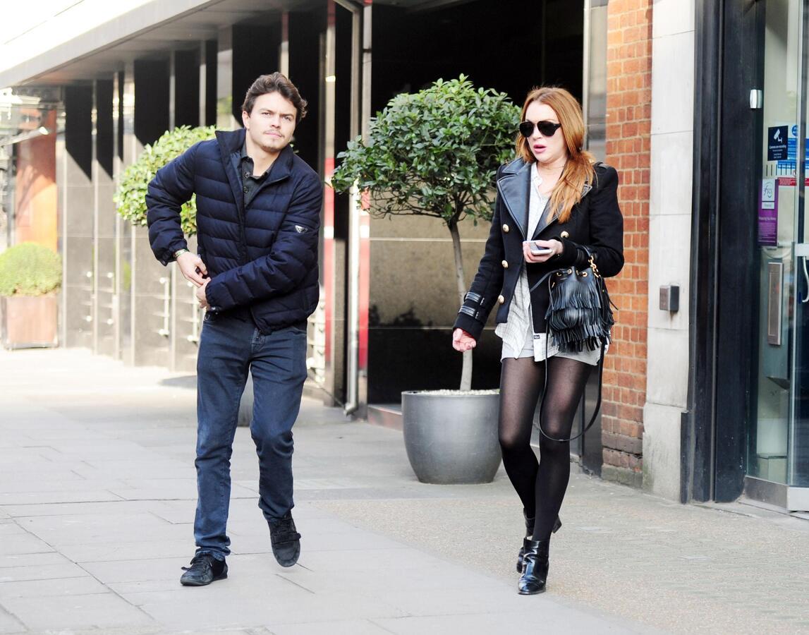 Линдси Лохан опровергла слухи о помолвке с Егором Тарабасовым