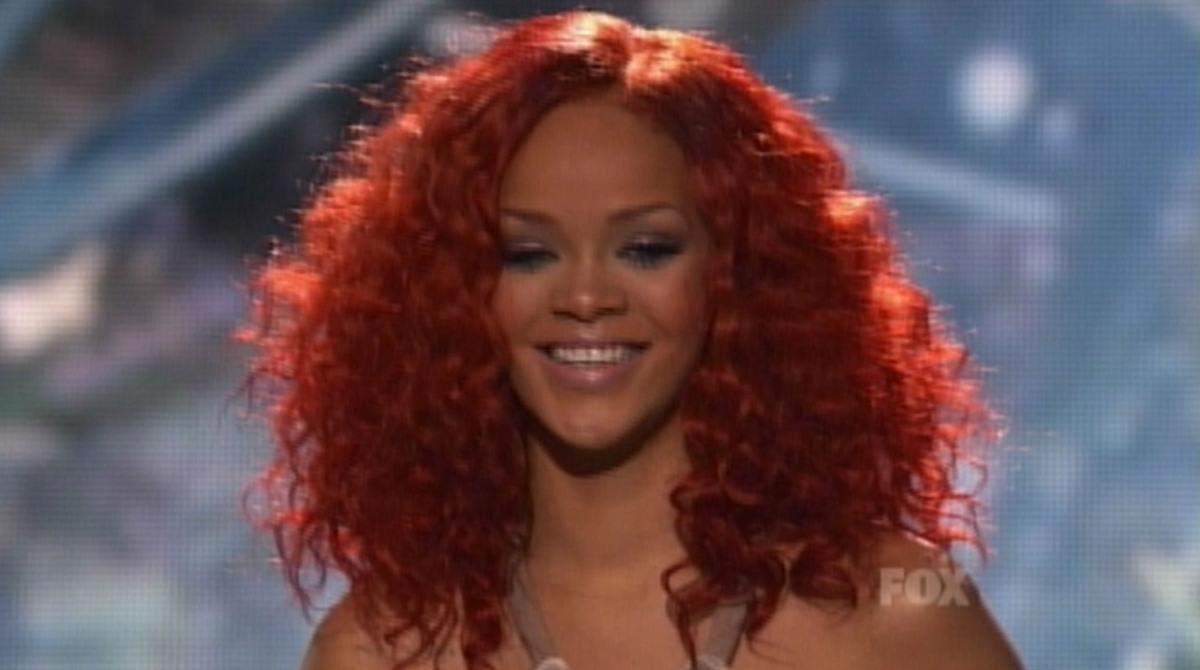 Выступление Рианны на шоу American Idol
