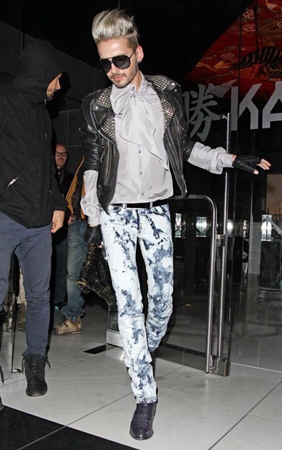 Новый образ Билла Каулица из группы Tokio Hotel