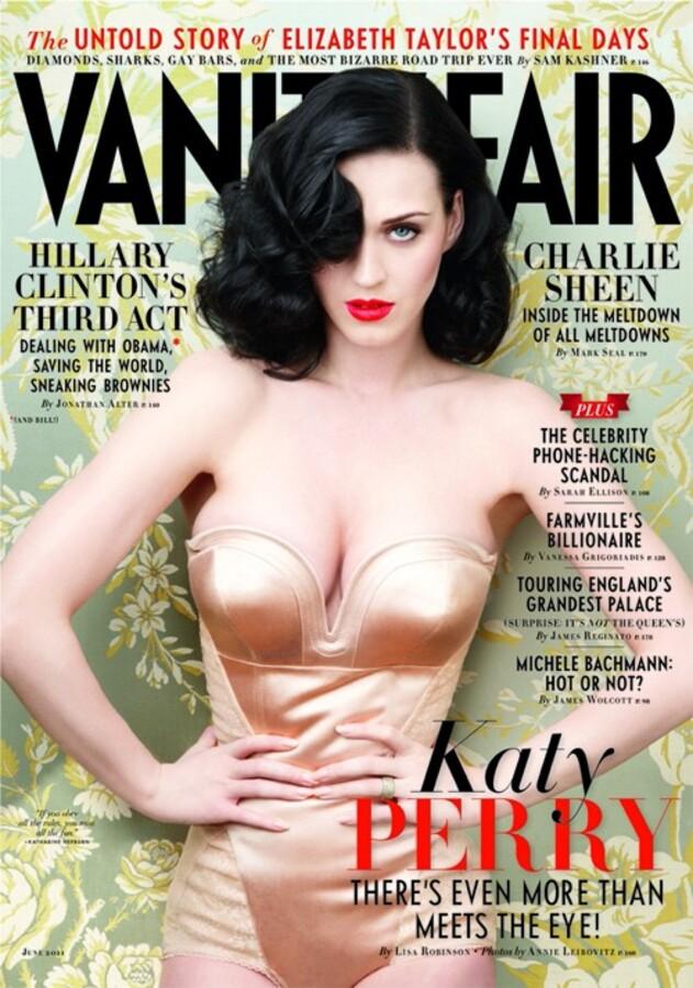 Кэтти Перри в журнале Vanity Fair. Июнь 2011. Фотограф: Анни Лейбовитц