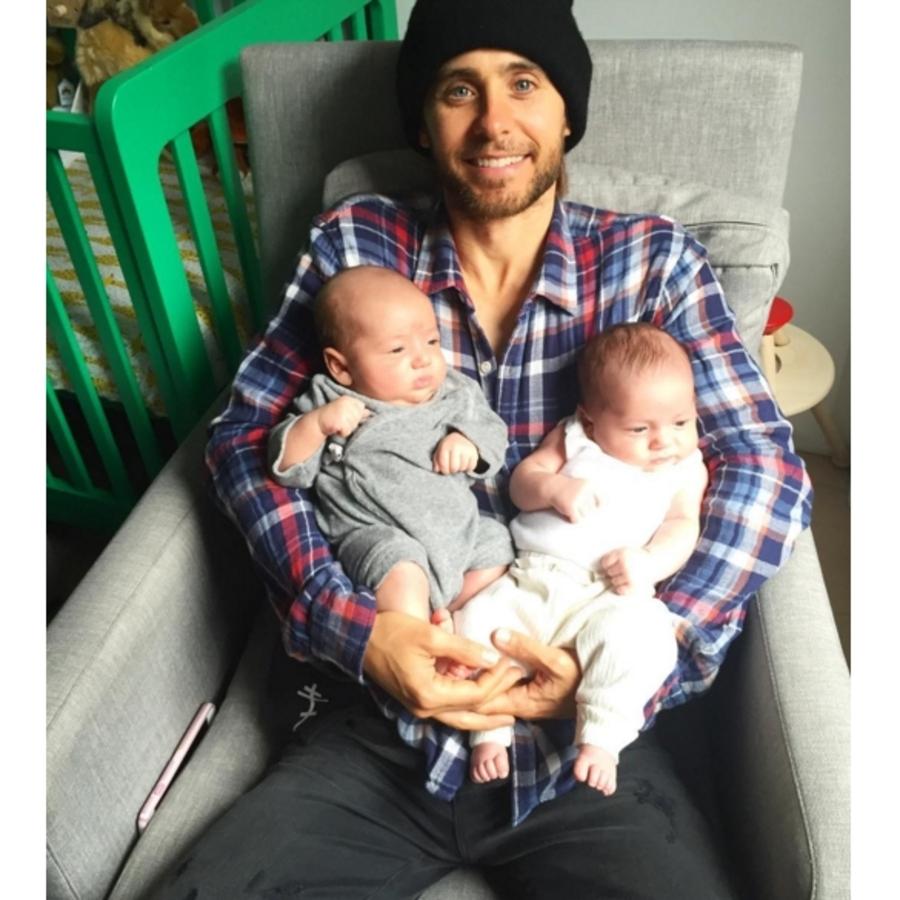 Фото: Джаред Лето познакомился с детьми Терри Ричардсона